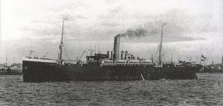Image of the ship, S.S. Köln