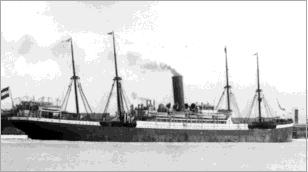 Image of the steamer, S.S. Main.