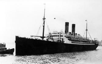 Photo of the ship, Berlin.