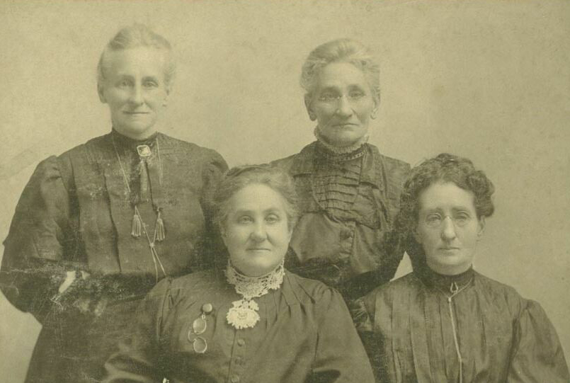 Sisters Maria, Lucinda, Lucetta, and Odilva STRAUB.
